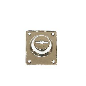 Накладка на сувальду со шторкой Cisa 06081.00.0.12 (никель)